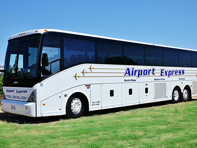Sonoma County Airport Express offers private charter busses.